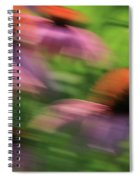 Dreaming Of Flowers Spiral Notebook
