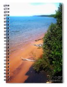 Dreaming Of Lake Michigan Spiral Notebook