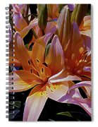 Dreaming Of Lilies 5 Spiral Notebook