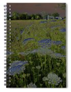 Dreaming Of Queen Annes Lace Spiral Notebook