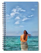 Dreaming Of Summer Spiral Notebook