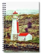 Dreaming Of The Georges Island Light In Halifax Spiral Notebook