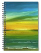 Dreaming Of The Sun Spiral Notebook