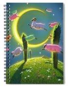 Dreamland II Spiral Notebook