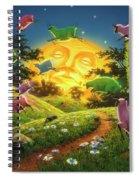 Dreamland IIi Spiral Notebook