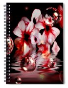 Dreams 5 - Floral Spiral Notebook