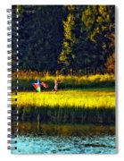 Dreams Can Fly Impasto Spiral Notebook