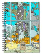 Dreams Of Fish Spiral Notebook