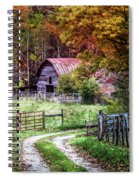 Dreams On The Farm Spiral Notebook