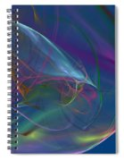 Dreamy Blue Spiral Notebook