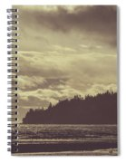 Dreamy Coastline Spiral Notebook