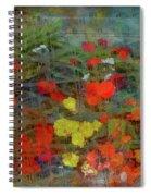 Dreamy Flowers Spiral Notebook