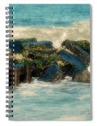 Dreamy Jetty - Jersey Shore Spiral Notebook