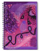 Dreamy Abstract Spiral Notebook