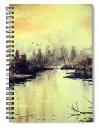 Dreamy Lake Spiral Notebook