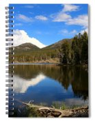 Dreamy Lake In The Rockies Spiral Notebook