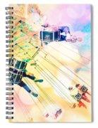 Dreamy Pastel Carnival Spiral Notebook