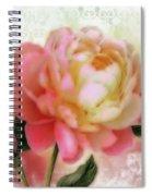 Dreamy Rose Spiral Notebook