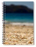 Dreamy Shell Beach Spiral Notebook