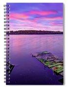 Dreamy Sunrise Spiral Notebook