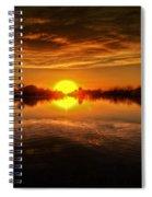Dreamy Sunset II Spiral Notebook
