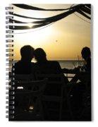 Dreamy Sunset Spiral Notebook