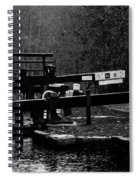 Dreary Day But Fine Spiral Notebook