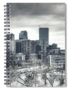 Dreary Denver Spiral Notebook