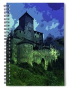 Dreary Fortress Spiral Notebook