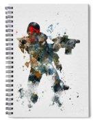 Dredd Spiral Notebook