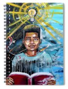 Drenched In Knowledge Spiral Notebook