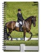 Dressage Test Spiral Notebook