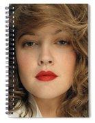 Drew Barrymore Spiral Notebook