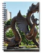 Drexel University Dragon - Philadelphia Pa Spiral Notebook