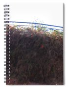 Dried Fence Spiral Notebook