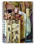 Dried Floral Still Spiral Notebook