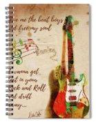 Drift Away Spiral Notebook