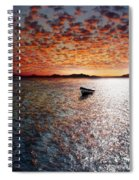 Drift Away Spiral Notebook