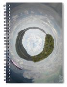 Drifting From Reality Spiral Notebook
