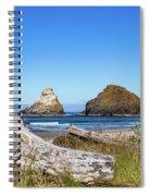 Driftwood And Rocks Spiral Notebook