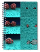 Drilling Of Graphene Nanoparticles Spiral Notebook