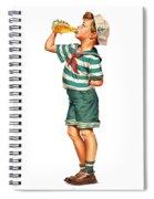 Drink Up Sailor Spiral Notebook