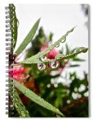 Drip And Drop Spiral Notebook
