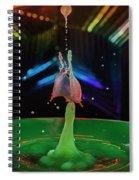 Dripping Drop Spiral Notebook