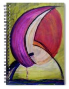 Dripping Spiral Notebook