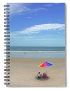 Drive By Beach Day Abmlo  Spiral Notebook