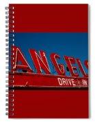 Drive In- California  Spiral Notebook