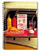 John's Car Hop Spiral Notebook
