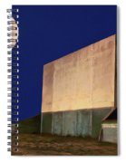 Drive-in Moon Spiral Notebook