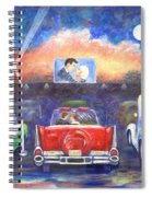 Drive-in Movie Theater Spiral Notebook